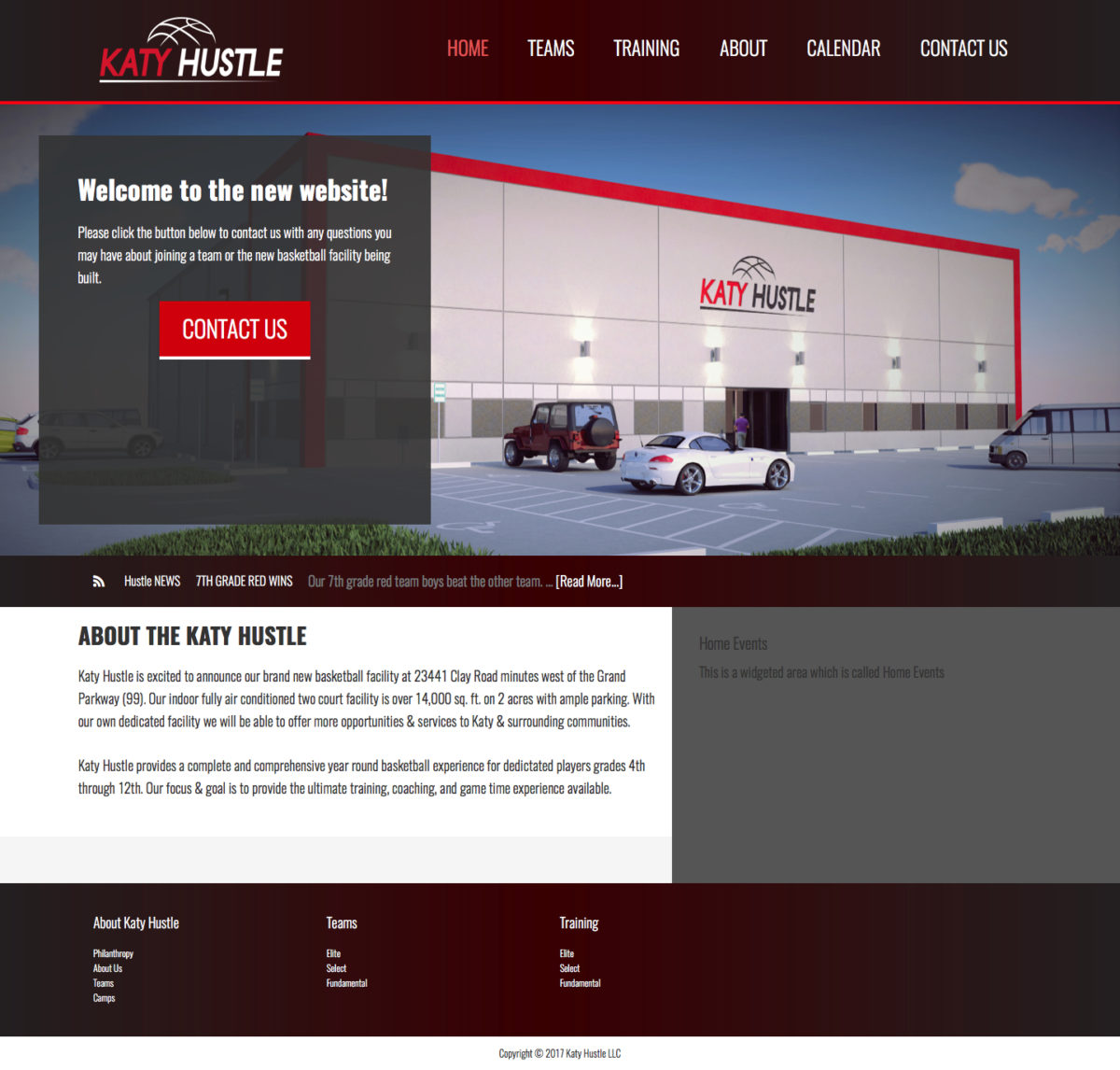Katy Hustle Web Design