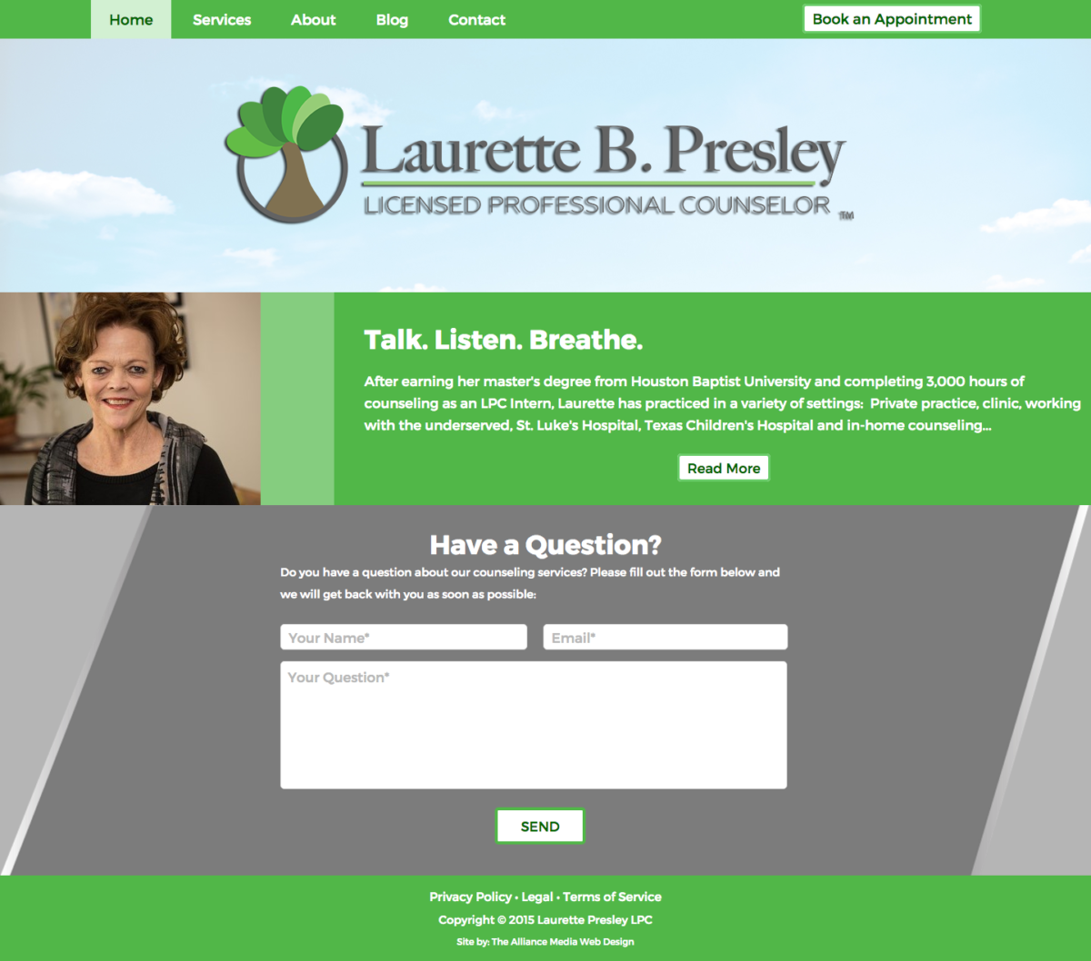 Laurette Presley Web Design