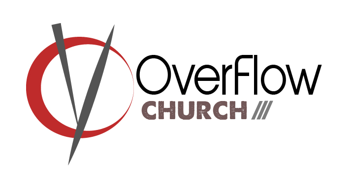 Overflow Church Logo Design