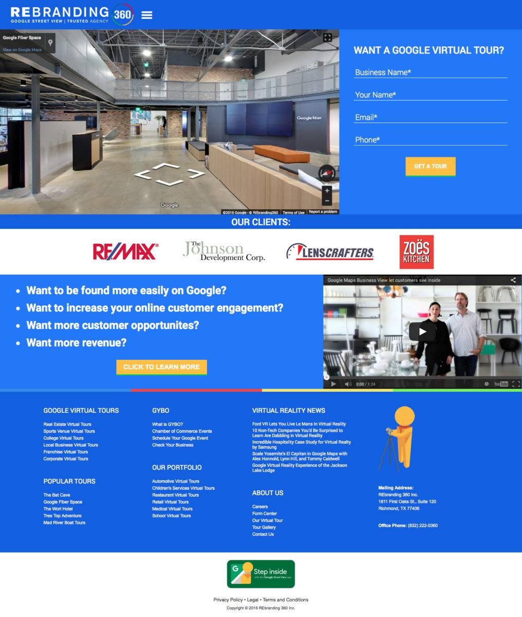 REbranding 360 Web Design