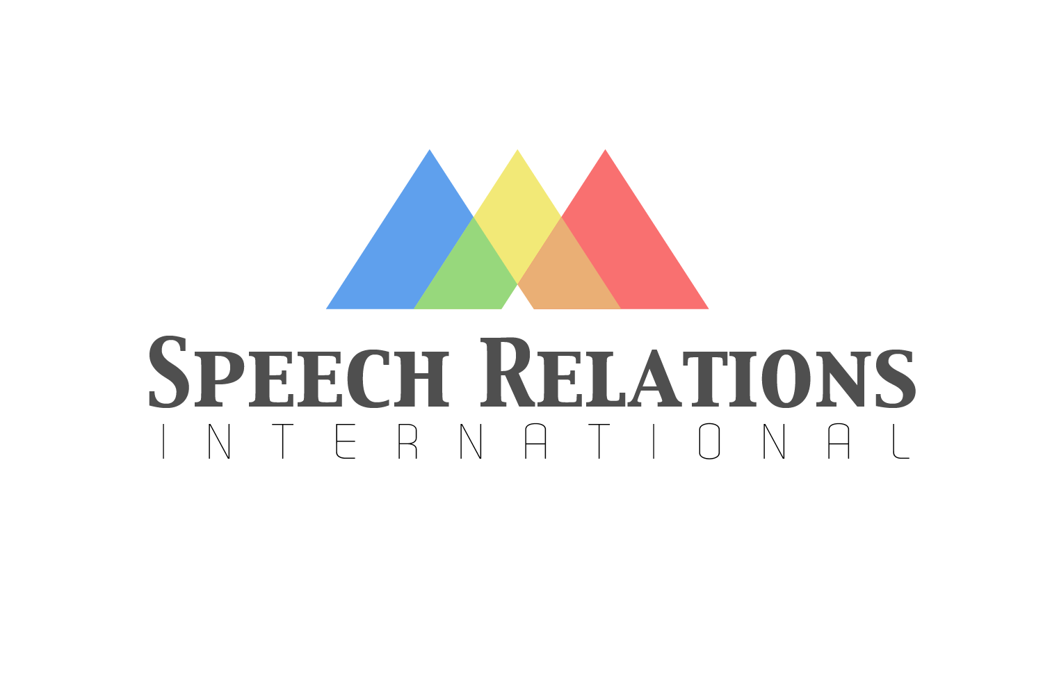Speech Relations International Logo Design