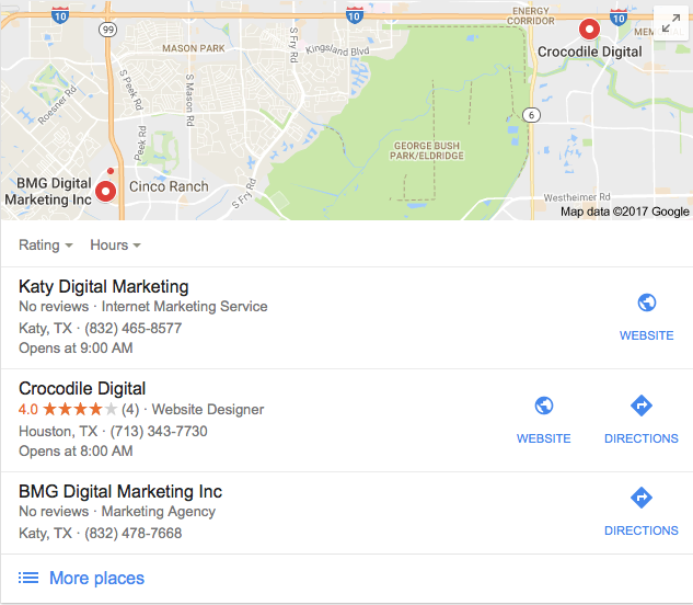 Local Search Optimization - Katy TX