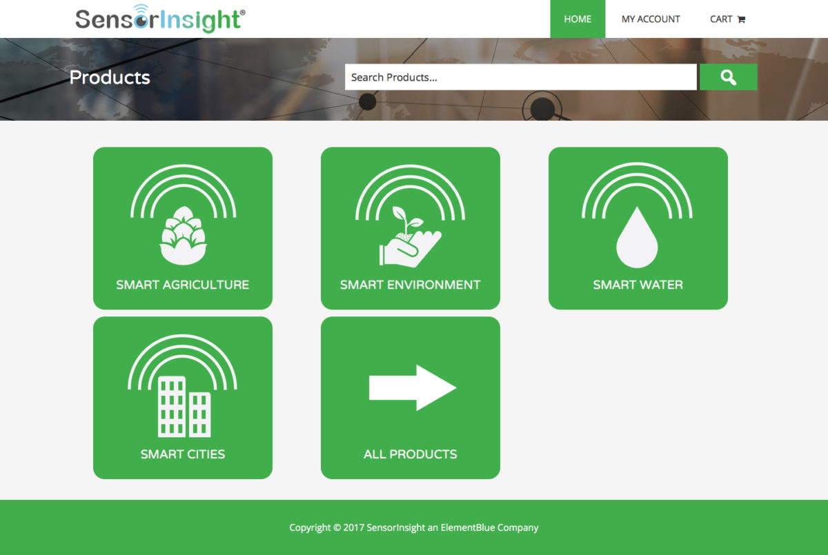 Sensor Insight Web Design