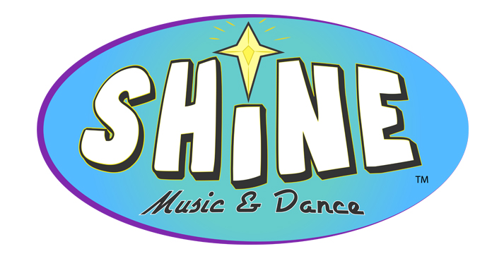SHINE Music and Dance Logo Design