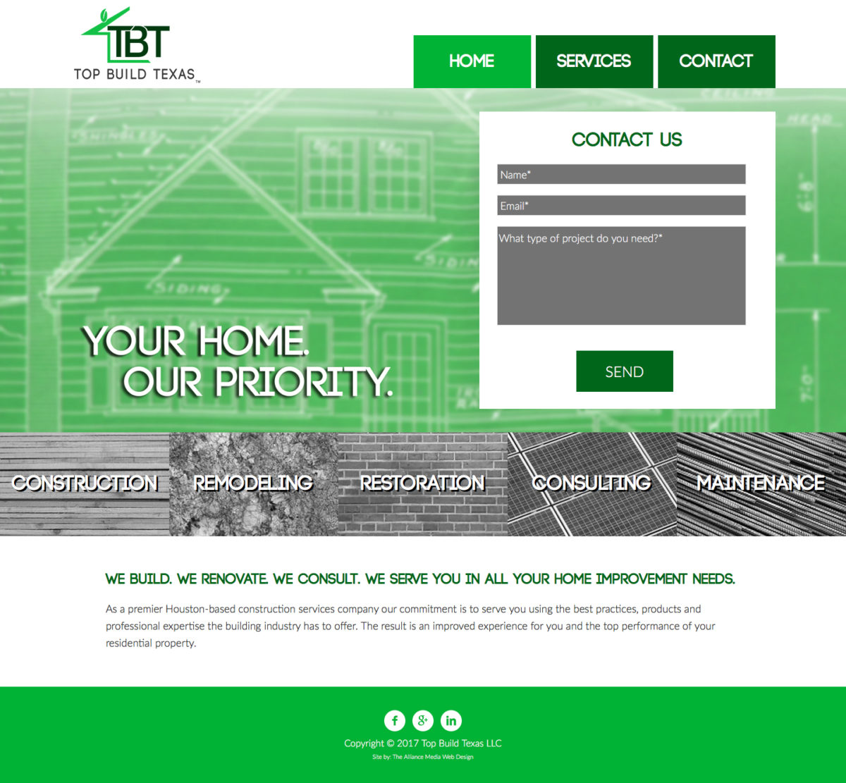 Top Build Texas Web Design