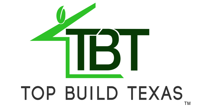 Top Build Texas Logo Design