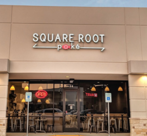 Square Root Poke - Top 10 Healthy Restaurants in Katy TX