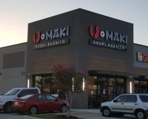 U-Maki Sushi Burrito - Top 10 Healthy Restaurants Katy TX